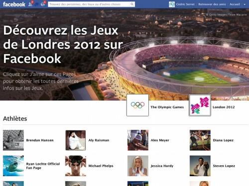 facebook-jeux-olympiques-londres-2012