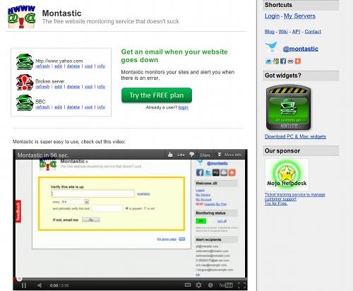 montastic 11 outils pour faire du monitoring sur un blog (ou un site)