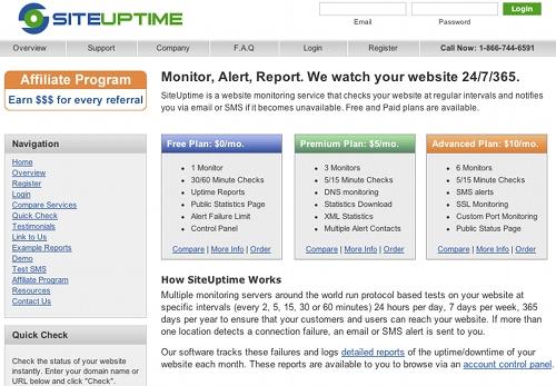 siteuptime 11 outils pour faire du monitoring sur un blog (ou un site)