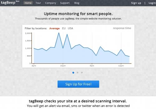 tagbeep 11 outils pour faire du monitoring sur un blog (ou un site)