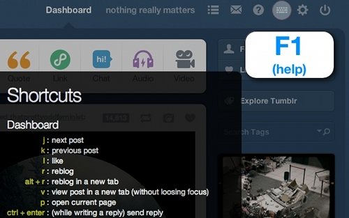 tumblr-shortcuts