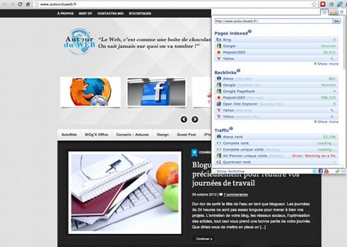 seo for chrome 5 extensions Chrome pour gérer efficacement un Site Web / Blog