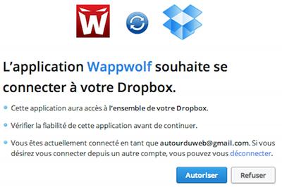 wappwolf dropbox Wappwolf, automatiser certaines tâches sur Dropbox, Google Drive et Box