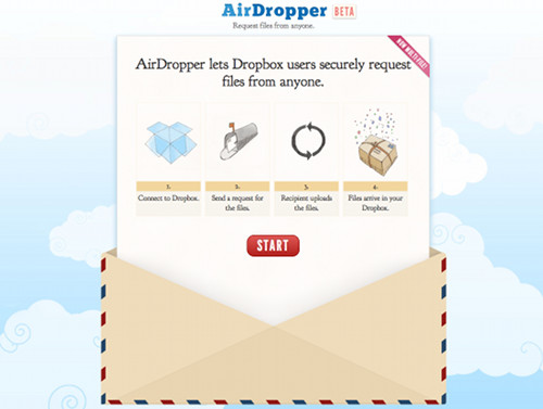 airdropper 5 applications gratuites pour perfectionner Dropbox