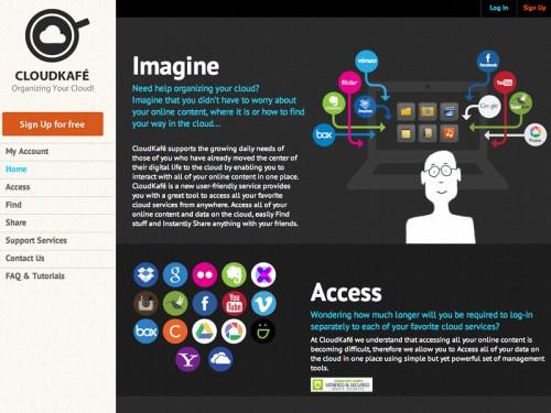 cloudkafe 500x375 CloudKafe, centraliser et organiser son contenu en ligne