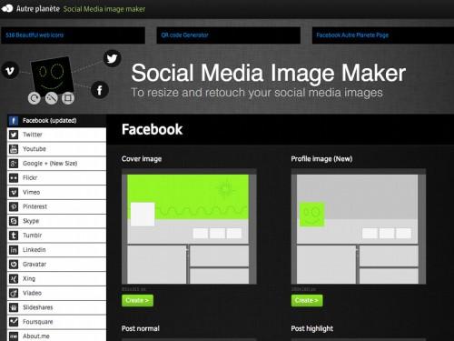 social media image maker 500x375 Comment ajuster parfaitement TOUTES les images de vos réseaux sociaux