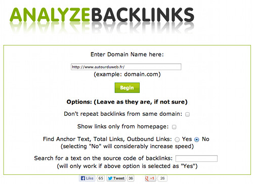 analyze-backlink