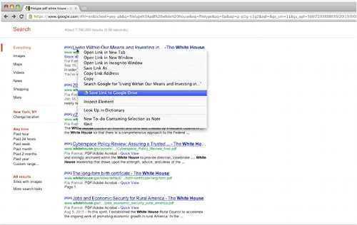 enregistrer dans google drive 7 trucs et astuces cachés dans Google Drive