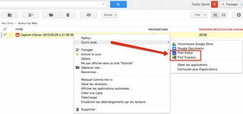 pixlr google drive 500x236 7 trucs et astuces cachés dans Google Drive