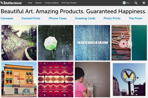 instacanvas 5 services Web pour profiter pleinement de Instagram