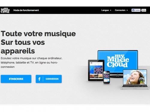 mymusiccloud 500x375 My Music Cloud, pour lire de la musique en ligne et hors ligne