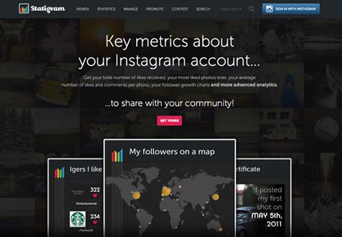 statigram 5 services Web pour profiter pleinement de Instagram
