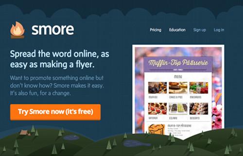 smore 5 services en ligne pour créer rapidement une page Web