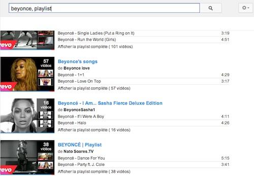 beyonce-playlists