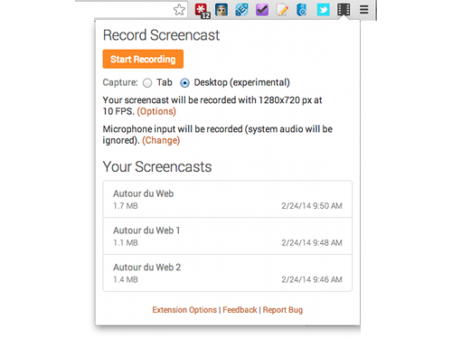 screencastify Screencastify, capture décran vidéo pour Chrome