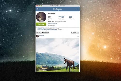 instagram-chrome