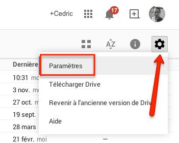 parametres-google-drive