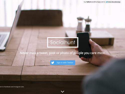 social-hunt