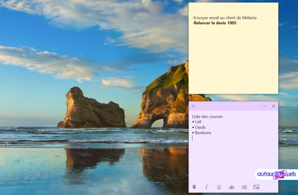 Post-it Windows : comment utiliser le pense-bête sur Windows 10 ?
